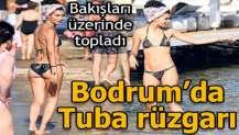 Bodrum'da Tuba rüzgarı