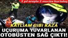 Bolivya'da katliam gibi kaza: Otobüs uçuruma yuvarlandı!