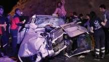 Bolu'da feci kaza! 3'ü ağır 8 yaralı.