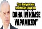 Bu mücadeleyi Cumhurbaşkanı Erdoğan'dan iyi kimse yapamazdı