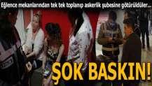 Bursa'da eğlence mekanlarına eş zamanlı baskın