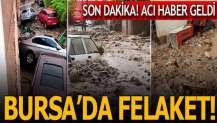Bursa'da felaket! Can kaybı 4'e yükseldi