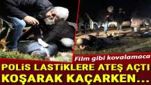 Bursa'da film gibi kovalamaca