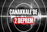 Çanakkale'de 2 ayrı deprem