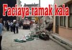 Çanakkale'de 5 katlı apartman çöktü