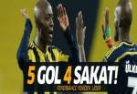 Çaykur Rizespor - Fenerbahçe maç sonucu (1-5)