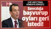 CHP-HDP ittifakı komediye dönüştü! Savcılığa başvurup oyları geri istedi.