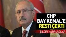 CHP, Kılıçdaroğlu'na resti çekti.