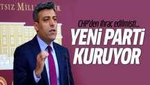 CHP'den ihraç edilen Öztürk Yılmaz yeni parti kuruyor