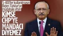 CHP'den 'mandacı' suçlamalarına tepki