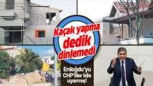 """CHP'li Aykut Erdoğdu'nun kaçak villa sevdası: """"Kaçak yapma dedik dinlemedi""""."""