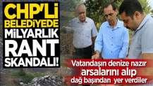 CHP'li belediyede milyarlık rant skandalı