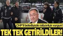 CHP'li Yalova Belediyesindeki zimmet soruşturmasında 3 şüpheli adliyeye sevk edildi