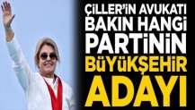 Çiller'in avukatı bakın hangi partiden aday oldu