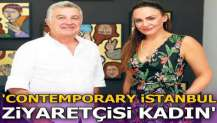 'Contemporary İstanbul ziyaretçisi kadın'