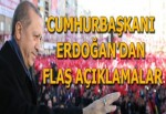 Cumhurbaşkanı Erdoğan Elazığ'da konuşuyor