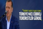 Cumhurbaşkanı Erdoğan Erzincan'da konuştu