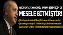 Cumhurbaşkanı Erdoğan: Sizi memurluktan atamazlar, seyirci kalmayız!