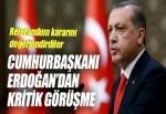 Cumhurbaşkanı Erdoğan ve Ruhani görüştü