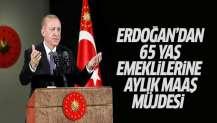 Cumhurbaşkanı Erdoğan yaşlı aylığı konusunda müjdeyi verdi.