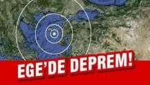 Datça'da 5,5 büyüklüğünde deprem!