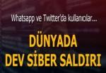 Dev siber saldırı! Twitter da etkilendi