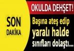 Diyarbakır'da okulda dehşet