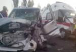 Elazığ'da ambulans ile otomobil çarpıştı: 1 ölü, 7 yaralı