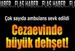 Elazığ'da tutuklu ve mahkumlar koğuştaki yatakları yaktı