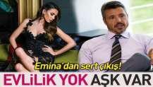 Emina Jahovic'ten evlilik itirafı: Abartıyorsunuz.