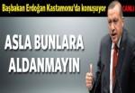 Erdoğan Kastamonu'da konuşuyor