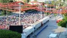 Erdoğan Mersin'de beklenen ilgiyi göremedi