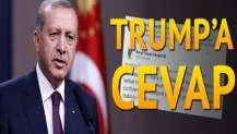 Erdoğan'dan Trump'a cevap: Terörü yendiğimizde daha fazla hayat kurtulacak