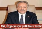 Erzincan Valisi Özgecan için Mersin'deki yetkililere kızdı!
