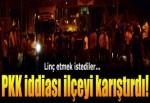 Erzurum'da gergin gece