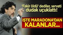 Fakir öldü dediler, serveti dudak uçuklattı! İşte Maradona'dan kalanlar...