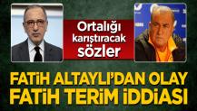 Fatih Altaylı'dan olay Fatih Terim iddiası! Ortalığı karıştıracak sözler