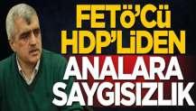 FETÖ'cü HDP'li Ömer Faruk Gergerlioğlu'ndan analara saygısızlık