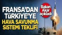 Fransa'dan Türkiye'ye hava savunma sistemi teklifi!