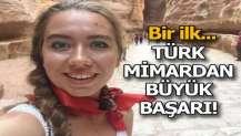 Genç Türk mimardan büyük başarı!