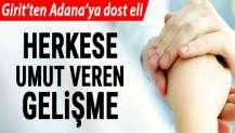 Girit'ten Adana'ya dost eli