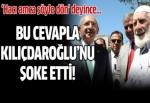 Hacı amca bu cevapla Kılıçdaroğlu'nu şok etti!