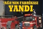 Halis Toprak'a ait kağıt fabrikasında yangın