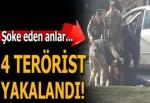 Hatay'da şoke eden anlar! Teröristler böyle yakalandı...