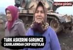 Hatay'da Türk askeri kurban kesilerek uğurlandı.