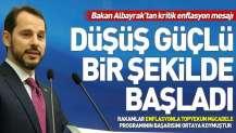 Hazine ve Maliye Bakanı Berat Albayrak'tan enflasyon açıklaması.