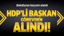 HDP'li Cizre İlçe Belediye Başkanı Mehmet Zırığ görevden alındı, belediyeye kayyum atandı.