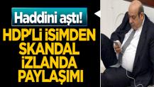 HDP'li isimden skandal İzlanda paylaşımı... Haddini aştı!