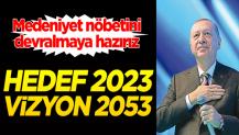 Hedef 2023 vizyon 2053