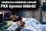 Hüda-Par: Jandarma müdahale etmedi PKK üyemizi öldürdü